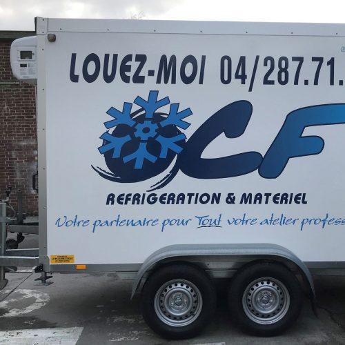 Remorque frigorifique