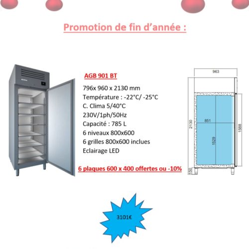 Armoire de congélation 800x600