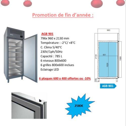 Réfrigérateur pour pâtisserieAGB 901